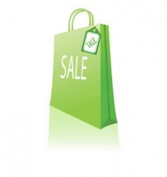sales bag vector image