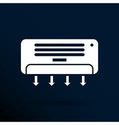 Air Conditioner Temperature icon celsius cold vector image