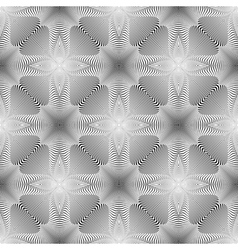 Design seamless monochrome background vector