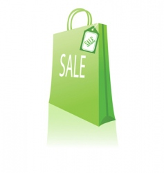 sales bag vector image