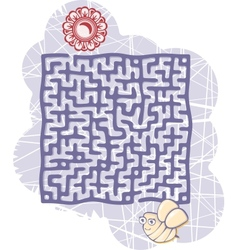 Mazes bee vector