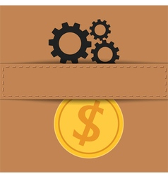 Material exchange to money vector
