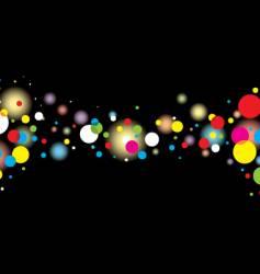 dark bubble vector image vector image