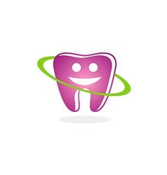 Teeth dental smile beauty logo vector