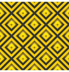 Seamless pattern with golden squares vector