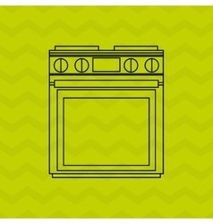 Appliance home design vector