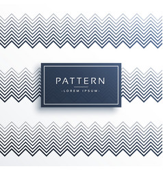 Abstract zigzag stripes line pattern background vector