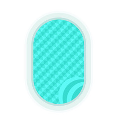 blue swimming pool vector image