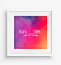 Colorful background poster vector