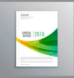 Creative brochure flyer template design for your vector