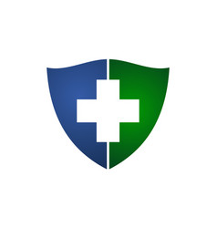 Health shield insurance vector
