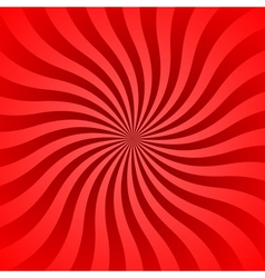 Red rays poster wavy vector