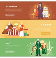 Religion confession banner vector