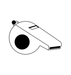 Single whistle icon image vector