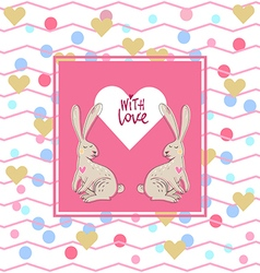 With love10 vector image