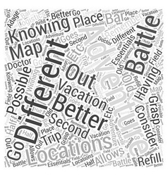 An adventure vacation to remember word cloud vector