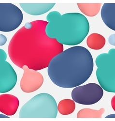 Colorful paint lacquer polish stain vector