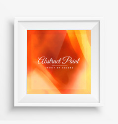 Abstract paint background poster vector