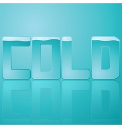 cold vector image