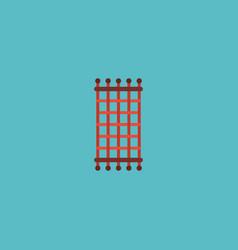 Flat icon needlework element vector