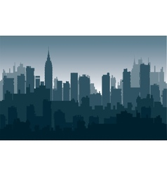 Nightly city3 vector image