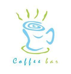 Coffee bar sign vector