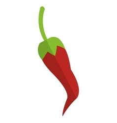 chili pepper icon vector image