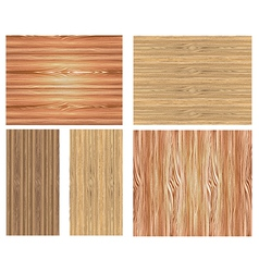Wooden patterns vector image vector image