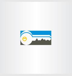 Key icon symbol design vector