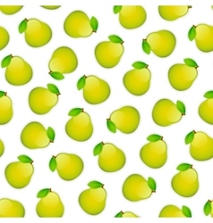 Seamless Pattern with Pears vector image