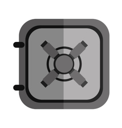 Safe object icon vector