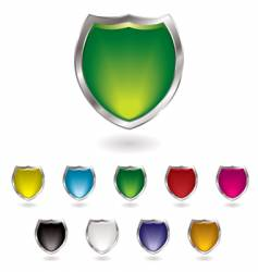 gel shield vector image vector image