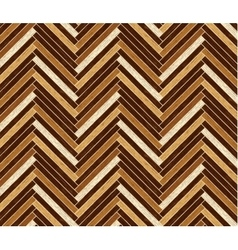 Parquet pattern in dark brown colors vector image