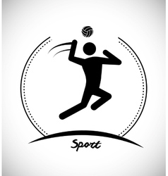 Sport games icon vector