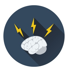 Icon of brainstorm vector
