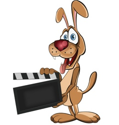 Director Dog vector image