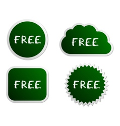 Free buttons vector image
