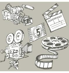 movie vector image