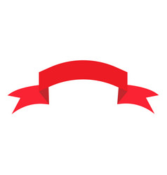 Ribbon red sign 1303 vector