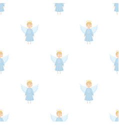 Soul icon in cartoon style isolated on white vector