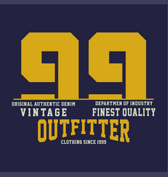 Vintage finest quality vector