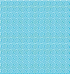 Greek seamless pattern background blue and white vector