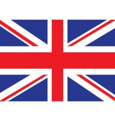 Britain flag vector image vector image