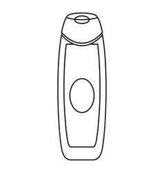 Deodorant icon outline style vector
