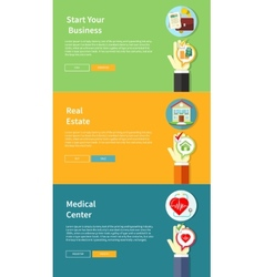 House business medical health insurance vector