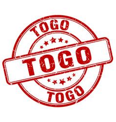 Togo stamp vector