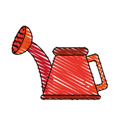 Watering can vector