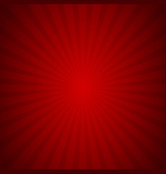 sunburst background red ray texture graphic vector image
