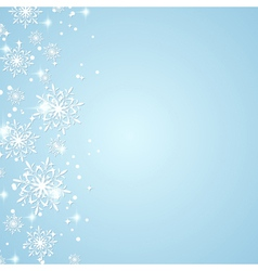 Winter holidays background vector