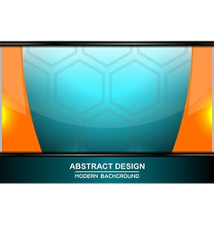 Abstract octagon backgrounds design vector